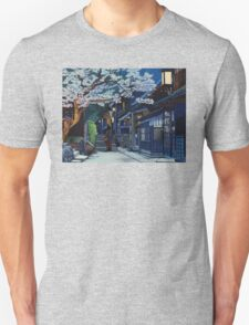 Under the Cherry Blossoms, Spring T-Shirt