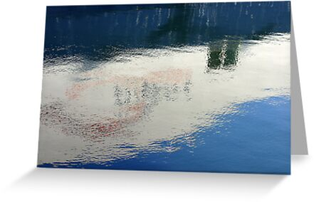 Harbour Reflection by Magda Labuda