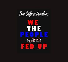 We the People Are Fed Up by M Fernandez