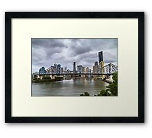 Brisbane's Story Bridge Framed Print