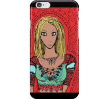The enchantress of tattered forest iPhone Case/Skin