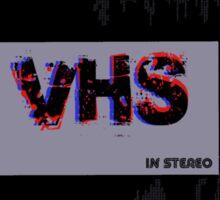 VHS 3D Sticker