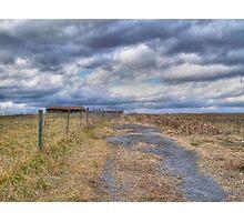 Farm Road Photographic Print