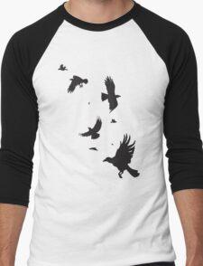 A Murder of Crows Men's Baseball ¾ T-Shirt