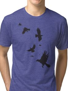 A Murder of Crows Tri-blend T-Shirt