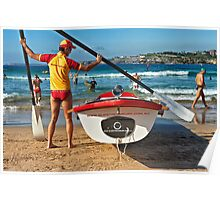 Bondi Moments - Surf Boat Poster