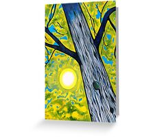 October Sun Greeting Card