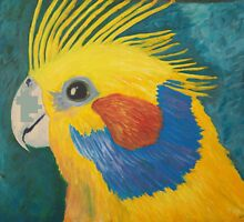 Yellow Bird by Anita Wann