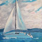 Sailboat by Anita Wann