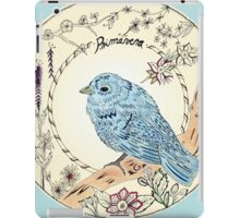 Bird in Summer iPad Case/Skin
