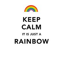 Keep Calm Rainbow by Ommik