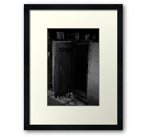 His escape Framed Print