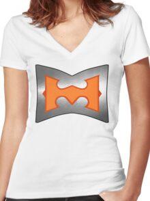 Battle Armor He-Man (no damage version) Women's Fitted V-Neck T-Shirt