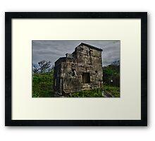 Fort Bribie Framed Print