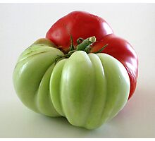 Fabulous Big Tomato   Photographic Print