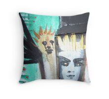 bonded by raven 1 Throw Pillow