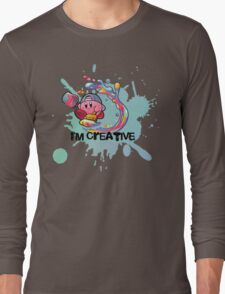 Kirby Paint Long Sleeve T-Shirt