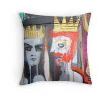 bonded by raven 3 Throw Pillow