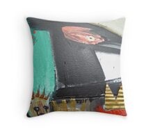 bonded by raven 5 Throw Pillow