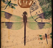 Dragonfly 3 by CalicoCollage