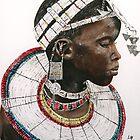 Maasai beauty by Lynda Harris
