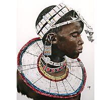 Maasai beauty Photographic Print