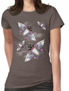 ANGEL FELINE Womens Fitted T-Shirt