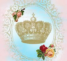Shabby Chic Crown by CalicoCollage