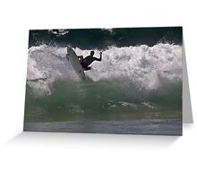 Boosted Surfer @ Dee Why Greeting Card