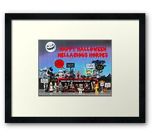 Happy Halloween - Inclusive and Fun Framed Print