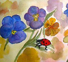 Pansy Ladybug by TrixiJahn