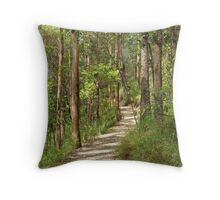 Mt Coot-tha Bush Walking Track Throw Pillow