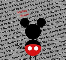Mickey iphone case by JohnRex