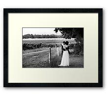 Narelle & Bryce Hill  Framed Print