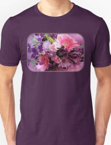 A Passion for Pink and Purple Unisex T-Shirt