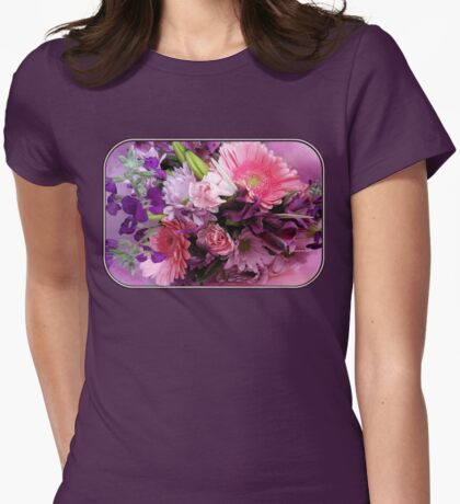 A Passion for Pink and Purple Womens Fitted T-Shirt