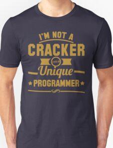 Programmer : I'm not a cracker, i'm a unique programmer T-Shirt