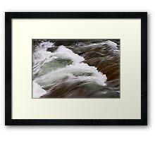 Water 6 Framed Print