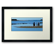 Urunga Calming Framed Print