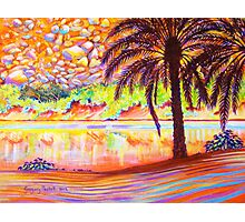 Hot day on the Orange River, South Africa Photographic Print