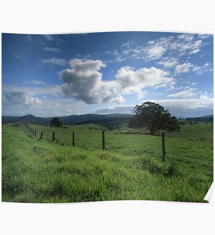 """Living the Dream"" ∞ Mount Barney, QLD - Australia Poster"