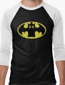 Police Batman Men's Baseball ¾ T-Shirt