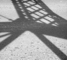 Abstract Forms: Shadow Truss, Shoalhaven River by Stethaki
