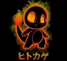 pokemon charmander by poketees