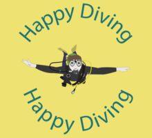 Happy Diving Baby Tee