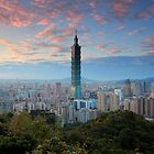 Taipei Sunset by Cameron B