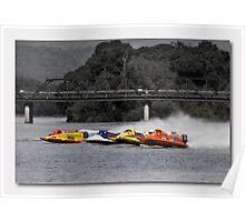 Taree boat racing Poster
