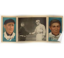 Benjamin K Edwards Collection George Wiltse John T Meyers New York Giants baseball card portrait 001 Poster