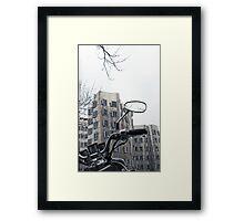 Gehry Buildings, Dusseldorf Framed Print
