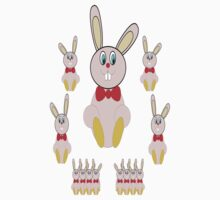 Easter Bunnies T-Shirt Kids Clothes